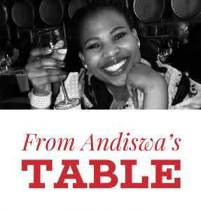 From Andiswa's Table